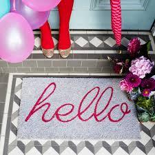 Hello Door Mat - Door Mats - Home Accessories - Homeware