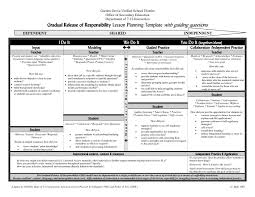 Sample Lesson Plans Format Sample Lesson Plan Format For Elementary Beautiful Marzano Lesson
