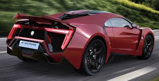 2016 w motors lykan hypersport in 40 amazing