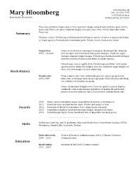 Resume Templater – Francistan Template