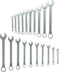 <b>Набор</b> комбинированных <b>ключей Tundra Basic</b>, 6-22 мм, 878114 ...