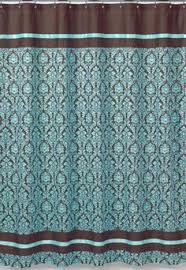 teal striped shower curtain. jojo designs bella blue turquoise brown damask girl teen shower curtain teal striped shower curtain