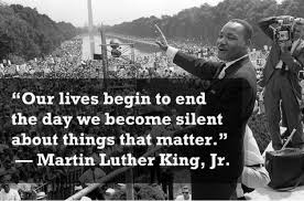 Martin Luther King Jr Quotes On Courage Best Singspirations Singing Against Injustice Quotes From Martin