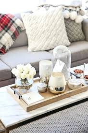 Decorating With Trays On Coffee Tables coffee table decor tray mattsheedy 9