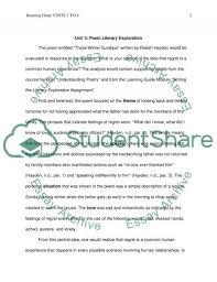poem literary exploration essay example topics and well written poem literary exploration essay example