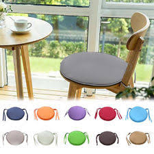 uk round garden chair pad indoor outdoor bistro stool patio dining home seat pad