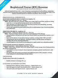 experienced rn resume sample beautiful experienced rn resume sample for experienced nursing