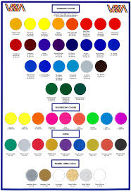 Wilflex Ink Chart Wilflex Epic Color Chart Bedowntowndaytona Com