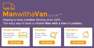 <b>Man with a</b> Van | London Removals | ManwithaVan.co.uk