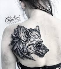 тату с волками что означает тату волка с оскалом 155 фото