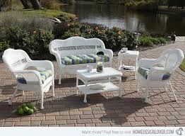 Get the Classic Charm of 15 White Wicker Furniture