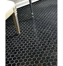 black hexagon tile bathroom black and white hexagon tile floor innovative within