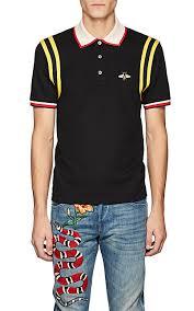gucci shirt. gucci bee patch polo shirt - tops 505387894