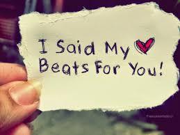 my heart beats for you whatsapp dp