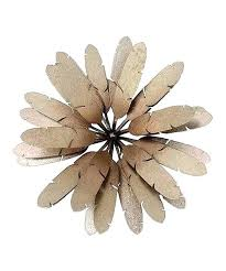 gold flower wall decor gold flower wall pink and gold fl wall decor