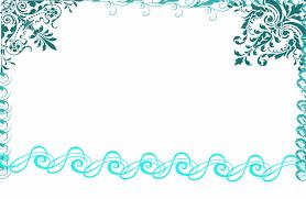 blue brown digital frame clip art teal frame blue flourish teal clipart wedding invitation