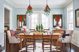 Kitchen Decor Designs New Kitchen Cozy Christmas Decor Ideas Cool Spirit Past Table Decorating