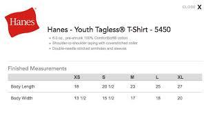 31 Inquisitive Hanes T Shirts Size Chart