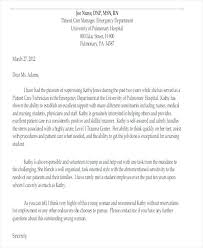 Free Recommendation Letter From Manager Template Sample Of