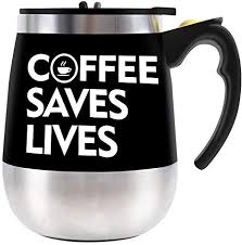 Buy electronics, apparel, books, music & more. Amazon Com Bine Self Stirring Mug Auto Self Mixing Stainless Steel Cup For Coffee Tea Hot Chocolate Milk Mug For Office Kitchen Travel Home 450ml 14oz Kitchen Dining