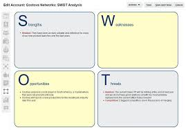 Swot Anaysis Account Swot Analysis Edwards Oracle Blog