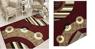 sweet home s modern circles design area rug red is on for 28 95 reg 44 99 at com
