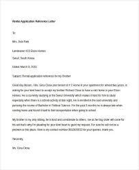 Rental Recommendation Letter - Www.ceeuromedia.info