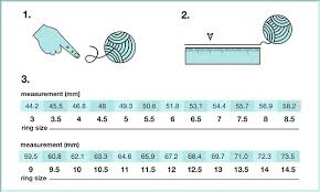 Real Size Ring Chart Ring Size Chart 3 Ways To Measure The Ring Size By Yourself