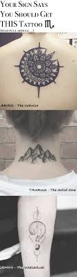 Your Sign Says You Should Get THIS Tattoo | Small wrist tattoos, Tattoos,  Neck tattoo