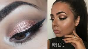 rose gold kylie jenner makeup