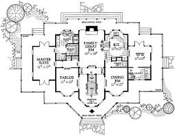 Plan W W  Delightful Victorian Farmhouse Plan   e    Delightfully proportioned and superbly symmetrical  this Victorian farmhouse plan has lots of curb appeal  The wraparound porch offers rustic columns and