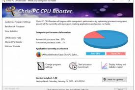 Chris-PC CPU Booster 1.19.15 + Portable [Latest] - S0ft4PC