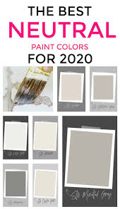 my favorite paint colors for 2020