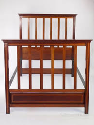 edwardian mahogany bedroom furniture. antique edwardian mahogany bed - x large single vintage bedstead bedroom furniture