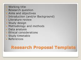 Research Proposal Data Analysis - Research Proposal Data Analysis