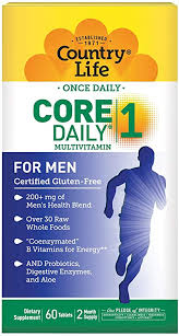 Country Life <b>Core Daily</b>-<b>1</b>, 6-in-1 Vegetarian Mens <b>Multivitamins</b> with…
