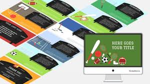 Sports Free Presentation Template For Google Slides Or