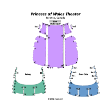 Prince Of Wales Theater Toronto Seating Chart Princess Of Wales Theatre Events And Concerts In Toronto