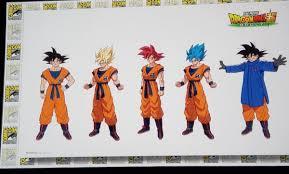 Goku Design Goku Character Designs For Dragon Ball Super Broly