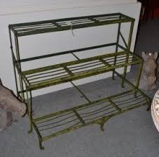 tiered iron plant stand. Tennants Auctioneers Three Tier Metal Plant Stand For Tiered Iron