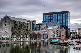 google dublin office. Water View Of The Google Dublin Office