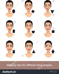 makeup for diffe face shapes contouring tricks for your face shape
