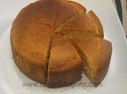 How To Make Eggless Sponge Cake Recipe By Masterchef Sanjeev Kapoor