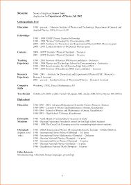 8 Resume For School Skills Based Resume
