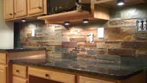 backsplash ideas for granite countertops rustic kitchen