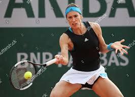 Andrea Petkovic Tennis French Open 2019 Grand Slam Editorial Stock Photo -  Stock Image