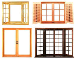 wooden window frame repair wooden window frame on a white background is used to the idea