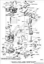 ford truck technical drawings and schematics section e engine carburetor ford 1 barrel thermostatic choke 1971 1972 6 cyl 170 240 300 engines e100 300 f100 f350