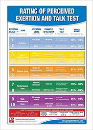 Rate Of Perceived Exertion Chart Rating Of Perceived Exertion Chart Poster Rpe Poster Talk