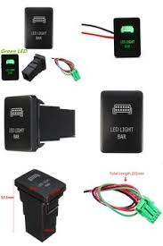 led light bar 500w 50 led light bars, toyota 4runner and toyota Proz Led Rocker Switch Wiring Diagram [visit to buy] car push switch green etching led light bar switch for toyota